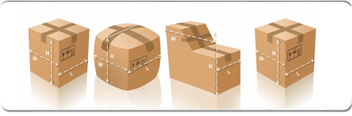 Cargo volume and weight