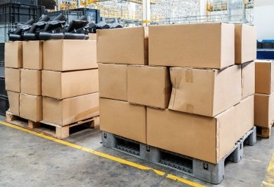 Damaged Or Low-Quality Cardboard Boxes
