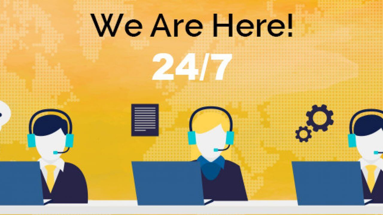 24 7 On-Line Support
