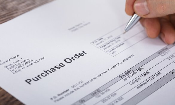 A Purchase Order From The Buyer