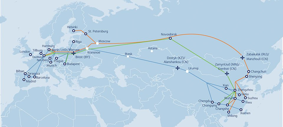 Railway Shipping from China to Europe